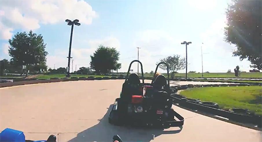 2 seater go karts