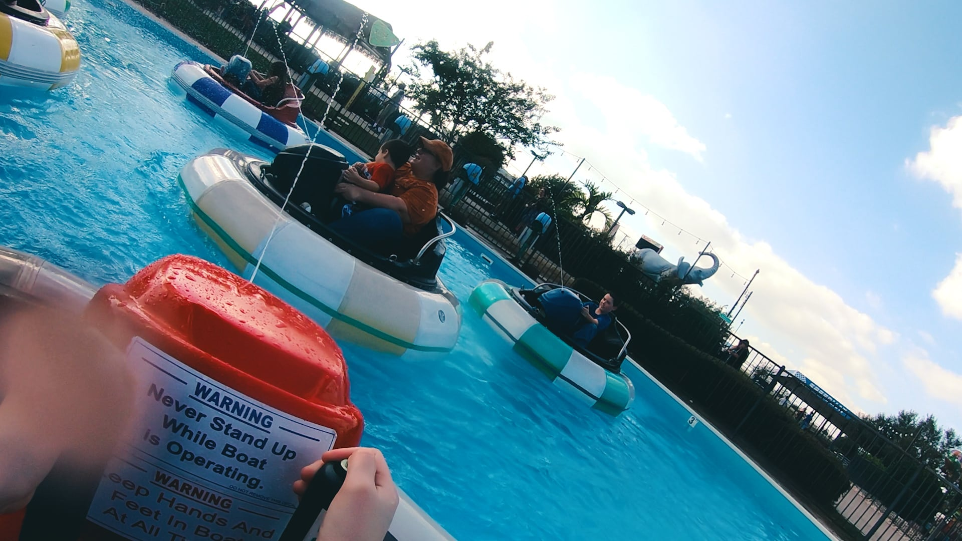 drive your own bumper boat