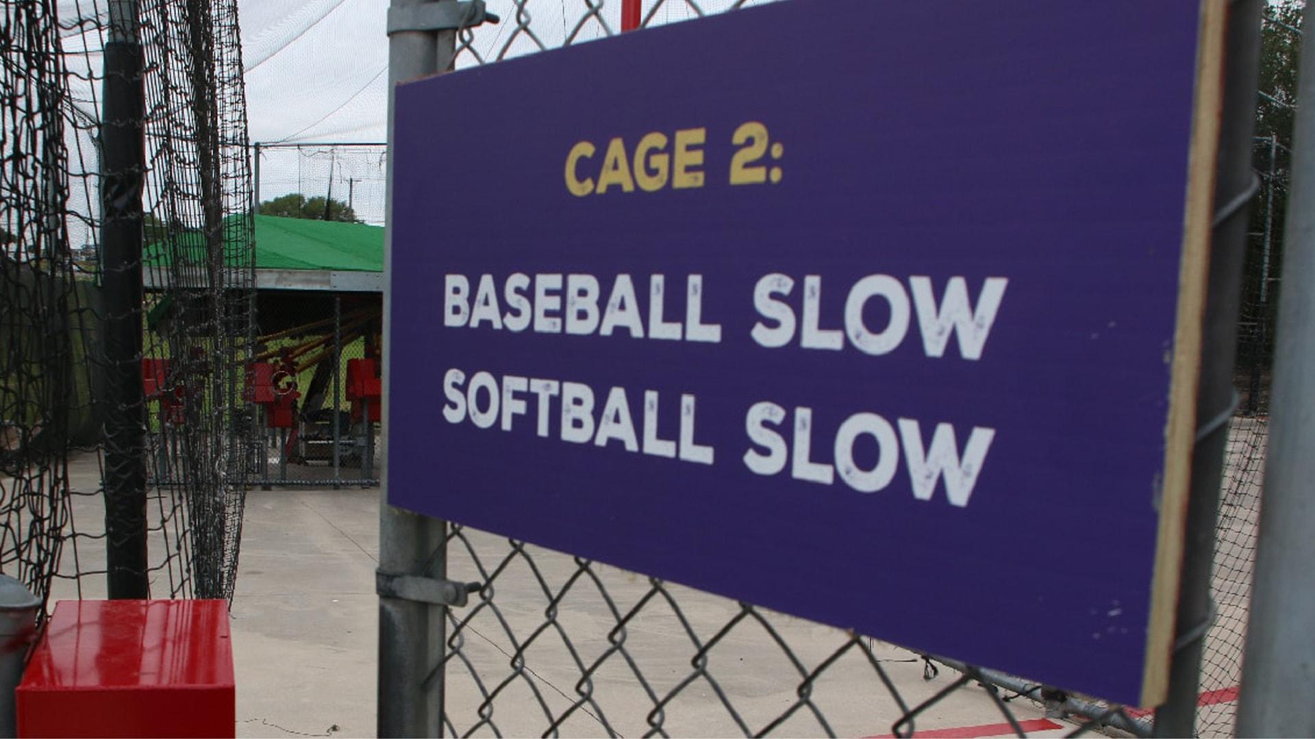 baseball and softball cages