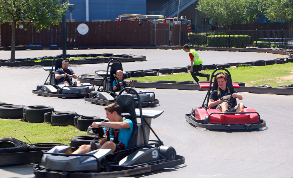 Youth Group Go Karts Austin